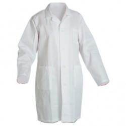 Plášť pracovný biely pánsky