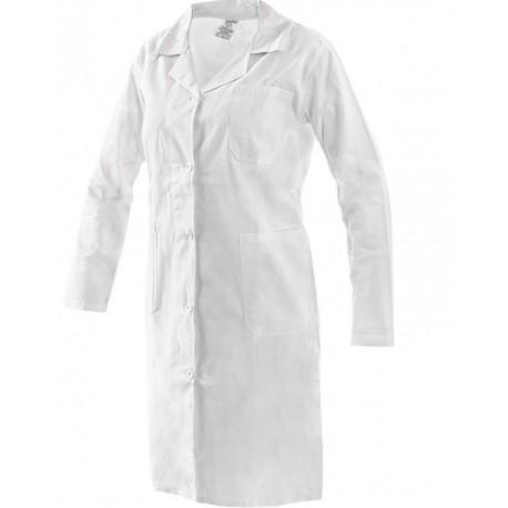 Plášť pracovný biely dámsky