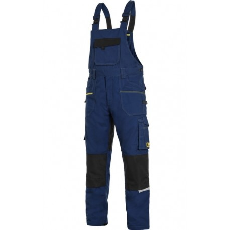 Nohavice s náprsenkou CXS STRETCH